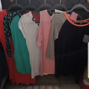 Bulk of 5 shirts total